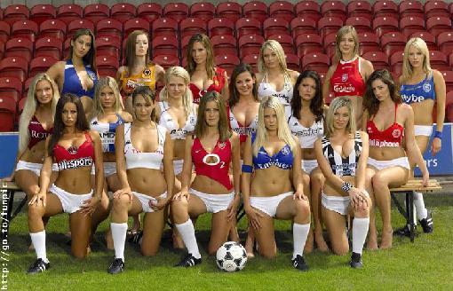 hot soccer girls